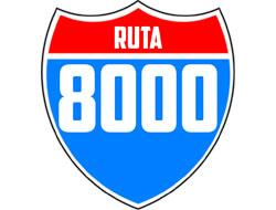 Logo Ruta 8000